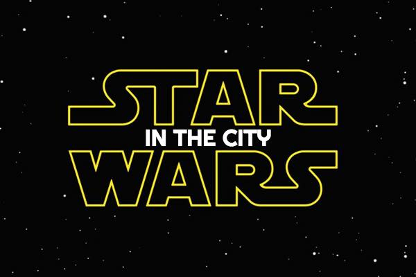 star wars in the city